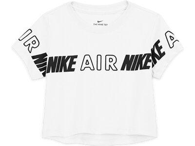 NIKE Kinder Shirt G NSW TEE CROP NIKE AIR TAPING Silber