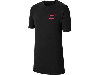 NIKE Kinder T-Shirt Schwarz