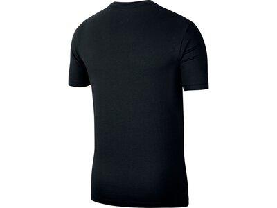 NIKE Herren Shirt M NSW SS TEE FOIL FUTURA Schwarz