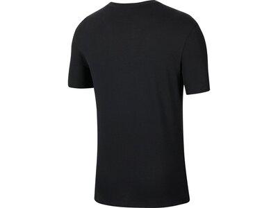 "NIKE Herren Trainingsshirt ""Nike Dri-Fit-T-Shirt"" Schwarz"