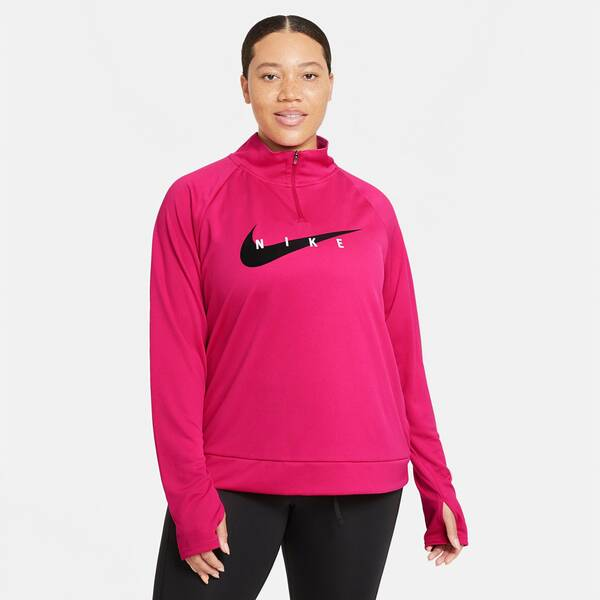 "NIKE Damen Laufshirt ""Swoosh Run HZ"""