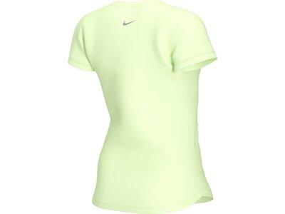 "NIKE Damen Laufshirt ""Swoosh Run"" Kurzarm Gelb"