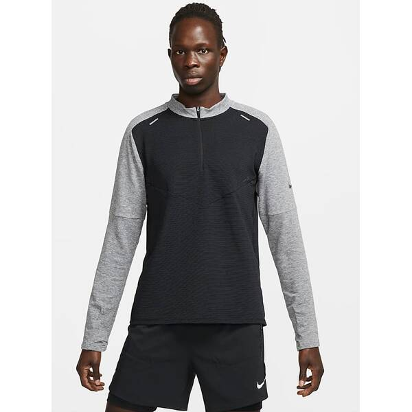 NIKE Herren Langarmshirt Pinnacle Run Division