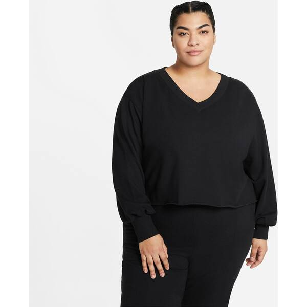 "NIKE Damen Yoga Shirt Langarm ""Off-Mat Fleece"""