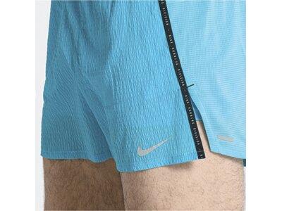 NIKE Herren Shorts Flex Stride Run Division Blau