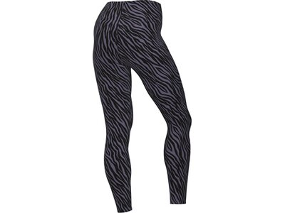 NIKE Damen Tights One 7/8 Printed Schwarz