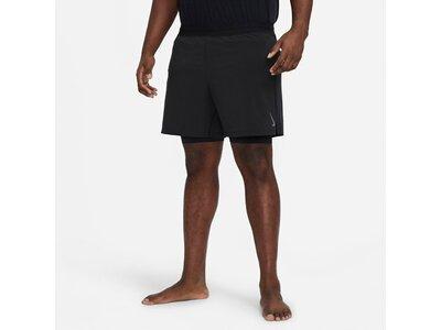 "NIKE Herren Trainingsshorts ""2-in-1 Yoga Shorts"" Grau"