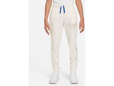 NIKE Kinder Sporthose Sportswear Swoosh Weiß