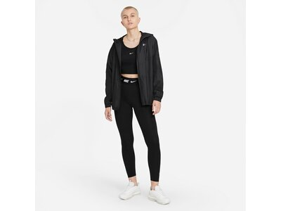 NIKE Damen Tights Sportswear Club Schwarz