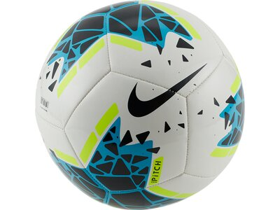 NIKE Ball Pitch Silber