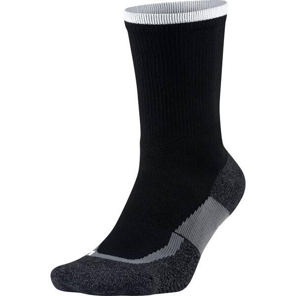 NIKE Herren Socken Elite Tennis Crew Schwarz