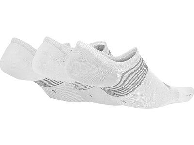 NIKE W EVERYDAY PLUS LTWT FOOT 3PR Weiß