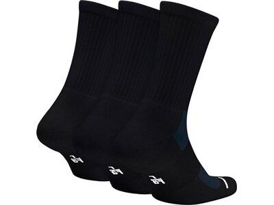 NIKE Herren Socken Jumpman Crew 3-Pack Schwarz