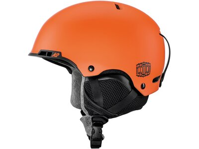 K2 Damen Helm STASH Rot