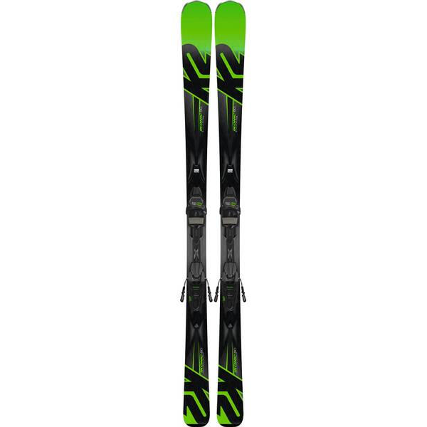 K2 Herren Ski IKONIC 80 M3 11 TCX LIGHT QUIKCLIK black - green SET