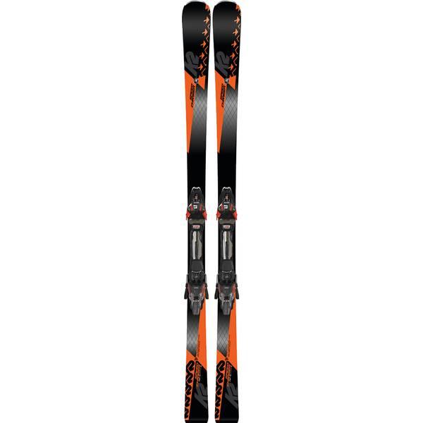 K2 Herren Ski SPEED CHARGER MXCELL 14 TCX D black - flo-red SET