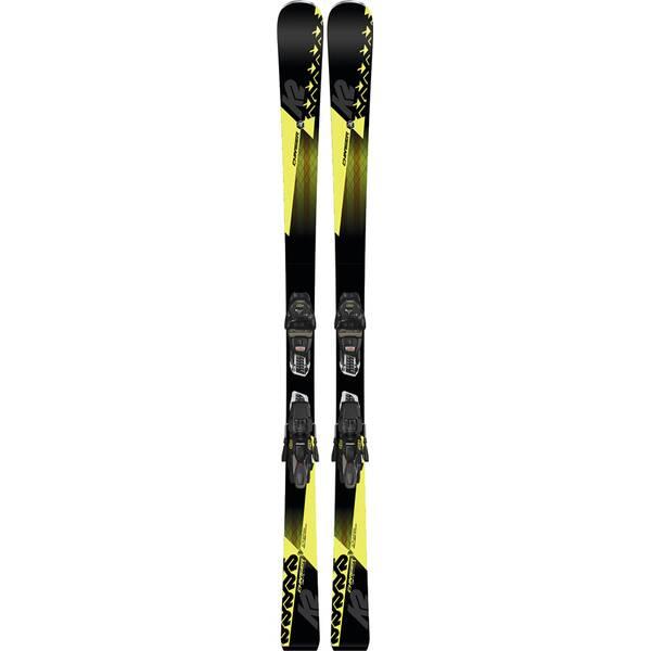 K2 Herren Ski CHARGER M3 11 TCX LIGHT QUIKCLIK black - yellow SET