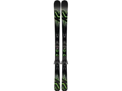 K2 Herren All-Mountain Ski IKONIC 80 M3 11 TCX LIGHT QUIKCLIK Schwarz