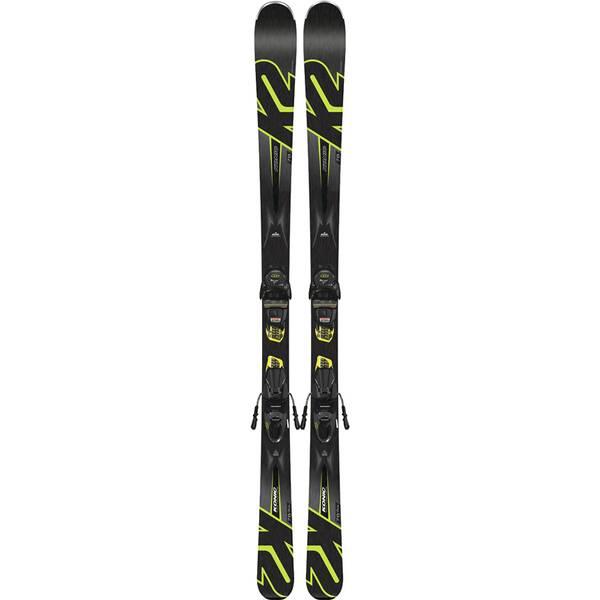 K2 Herren Ski KONIC 78 M3 10 COMPACT QUIKCLIK black - yellow SET