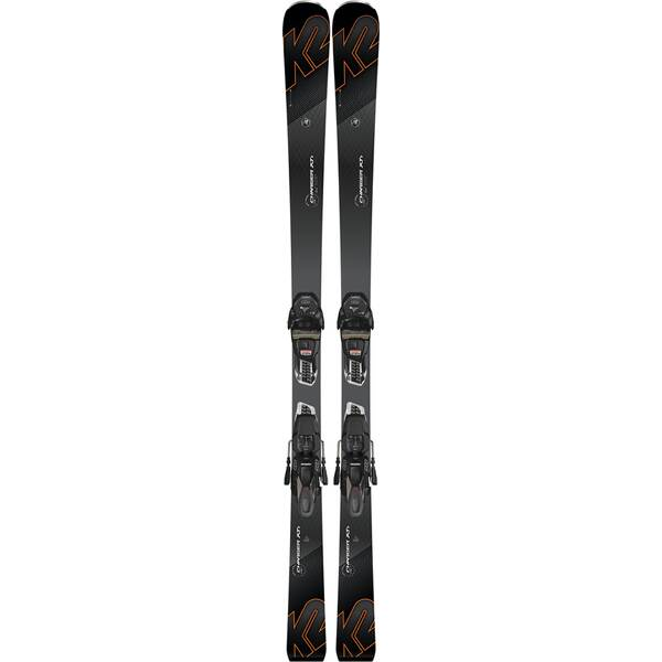 K2 Herren Ski CHARGER XTI M3 11 TCX LIGHT QUIKCLIK black - anthracite SET