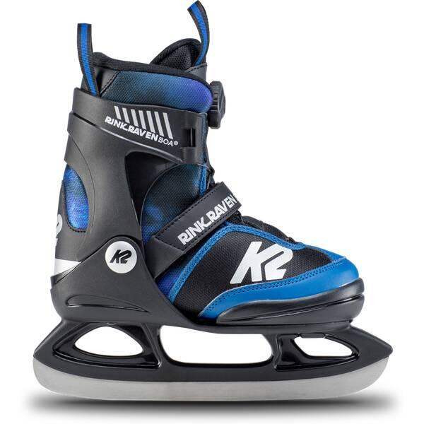 K2 Jungen Rink Raven Boa Ice Skate
