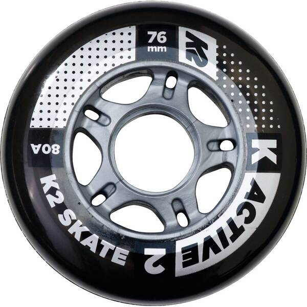 K2 Ersatzrollen 76 MM ACTIVE WHEEL 4-PACK