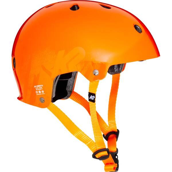 Kinder Helm Orange
