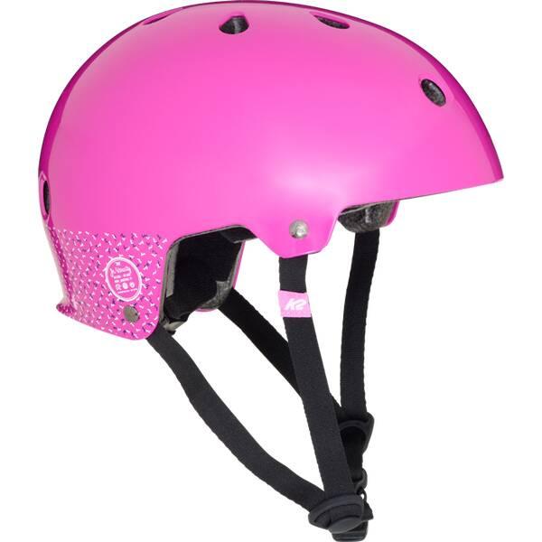 K2 Kinder Skaterhelm Varsity Pink