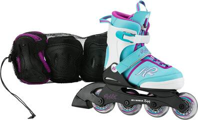 K2 Kinder Skates MARLEE PRO PACK light blue