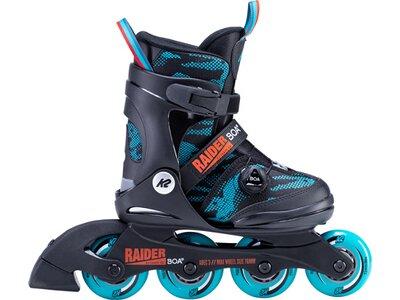 K2 Jungen Inline Skates RAIDER BOA Blau
