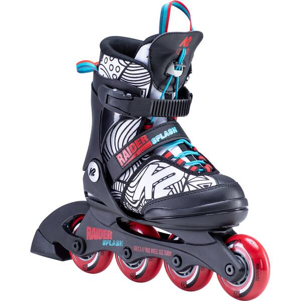 K2 Kinder Inlineskates RAIDER SPLASH