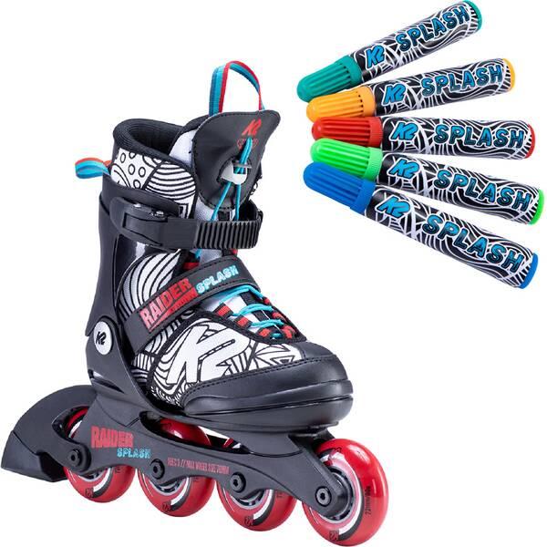 K2 Kinder Inlineskates RAIDER SPLASH