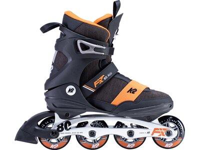K2 Herren Inline Skates F.I.T. 80 ALU Schwarz