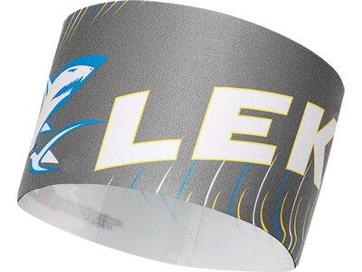 LEKI Herren Race Shark Headband Grau