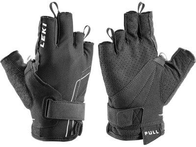 LEKI Herren Handschuhe Nordic Breeze Shark Short Schwarz