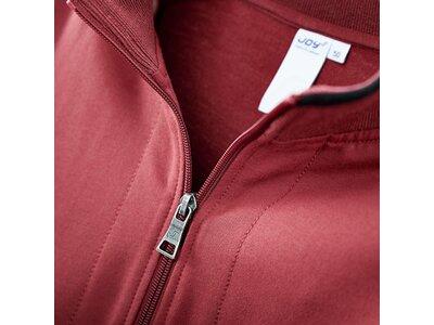JOY Herren Sweatjacke / Trainingsjacke Dirk Zip Jacket Rot
