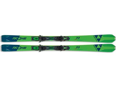 FISCHER Herren Racing Ski RC ONE 73 AR + RS 11 PR Grün