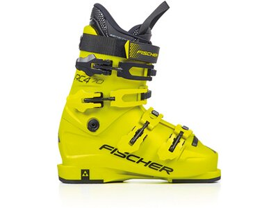 FISCHER Kinder Skischuhe RC4 70 Gelb