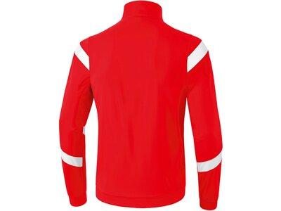 ERIMA Kinder Classic Team Polyesterjacke Rot