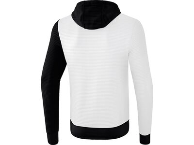 ERIMA Trainingsjacke mit Kapuze 5-C Weiß