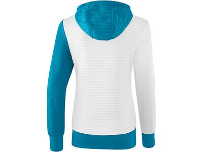 ERIMA Fußball - Teamsport Textil - Jacken 5-C Trainingsjacke Kapuze Damen Weiß