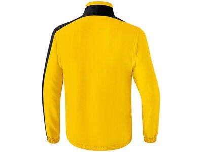 ERIMA Herren Club 1900 2.0 Jacke mit abnehmbaren Ärmeln Gold