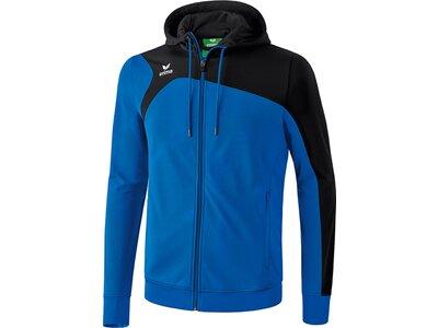 ERIMA Kinder Club 1900 2.0 Trainingsjacke mit Kapuze Blau