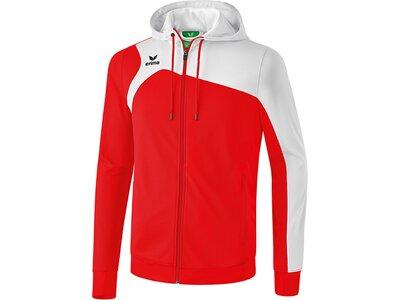 ERIMA Herren Club 1900 2.0 Trainingsjacke mit Kapuze Rot