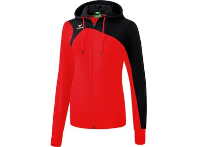 ERIMA Damen Club 1900 2.0 Trainingsjacke mit Kapuze Schwarz