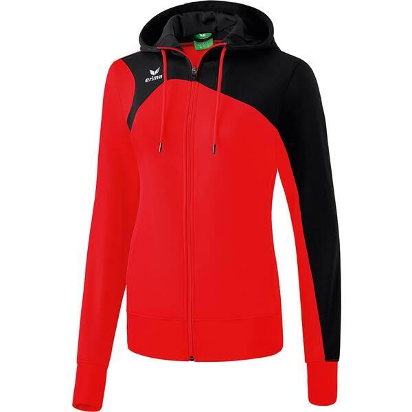 ERIMA Damen Club 1900 2.0 Trainingsjacke mit Kapuze