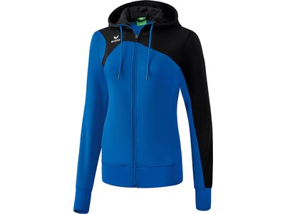 ERIMA Damen Club 1900 2.0 Trainingsjacke mit Kapuze Blau