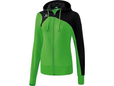 ERIMA Damen Club 1900 2.0 Trainingsjacke mit Kapuze Grün