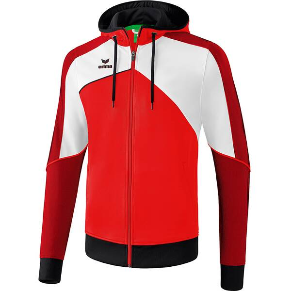 ERIMA Kinder Premium One 2.0 Trainingsjacke mit Kapuze