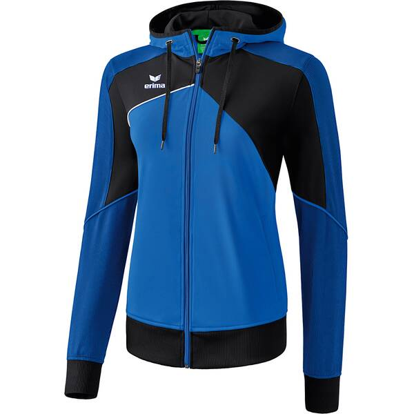 ERIMA Damen Premium One 2.0 Trainingsjacke mit Kapuze